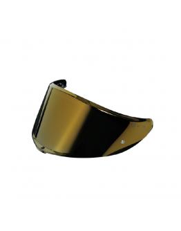 AGV VISOR K6 鏡片 IRIDIUM GOLD 電鍍金