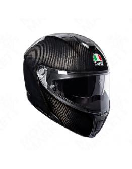 AGV SPORTMODULAR 後掀式全罩安全帽 碳纖維 #CARBON 亮面