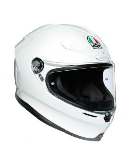 AGV K6 MONO 亮白 全罩 超輕量 安全帽