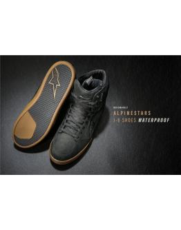 ALPINESTARS J-6 WATERPROOF RIDING SHOE  防水車靴 #黑棕