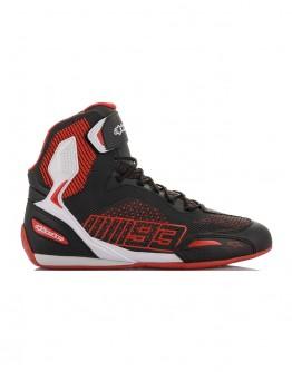 ALPINESTARS AUSTIN KNITTED RIDING SHOES 短筒車靴 MM93 #黑白紅