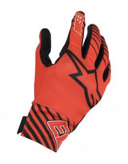 ALPINESTARS ARAGON GLOVES 紅黑白 MM93 限量聯名款 短手套