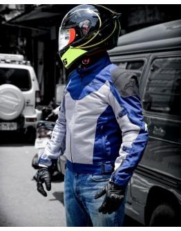 ALPINESTARS BAYSHORE AIR JACKET 亞洲版 夏季防摔衣 #藍灰黃