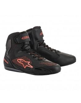 ALPINESTARS FASTER-3 RIDEKNIT SHOES 防摔 短筒車靴 #黑紅