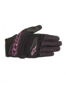 Alpinestars STELLA SPARTAN 300 GLOVE 女版夏季短手套#黑紫