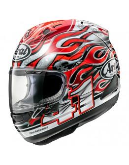 預購 ARAI RX-7X 頂級 全罩安全帽 選手彩繪 芳賀紀行 #HAGA