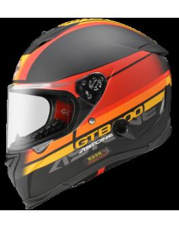 ASTONE GTB800 全罩安全帽 彩繪 平光黑/AO10紅