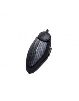 BIKECOMM BK-S2 騎士通 藍牙耳機配件飾板 #碳纖維