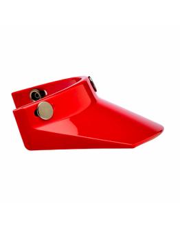 美國 Biltwell Moto Visor 帽簷 通用型 復古帽 #紅