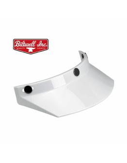 美國 Biltwell Moto Visor 帽簷 通用型 復古帽 #白