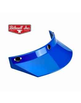 美國 Biltwell Moto Visor 帽簷 通用型 復古帽 #藍