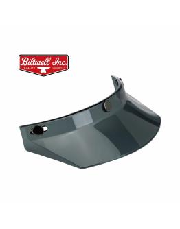 美國 Biltwell Moto Visor 帽簷 通用型 復古帽 #燻黑