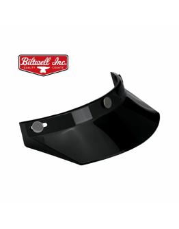 美國 Biltwell Moto Visor 帽簷 通用型 復古帽 #黑