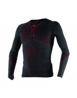 DAINESE D-CORE THERMO SHIRT 滑衣 保暖 防風 #黑紅