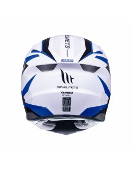 MT HELMETS 西班牙 TARGO 全罩式安全帽 ENJOY # D7 亮藍