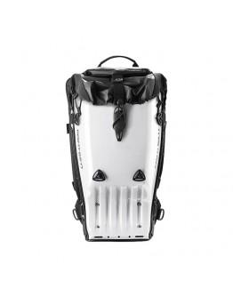 瑞典 POINT65N BOBLBEE GTX 25L 亮面白 硬殼騎士後背包 人體工學 CE認證 筆電包