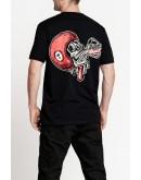 Pando Moto MIKE RED SKULL 1 T-Shirt 短袖上衣