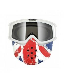 SHARK DRAK GOGGLE &MASK UNION JACK OS 防風鏡面罩 英國旗