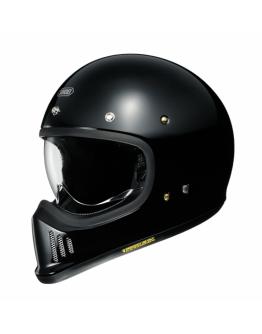 SHOEI EX-ZERO 復古 全罩安全帽 素色款 #亮黑
