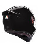 AGV K1 全罩安全帽 素色 #BLACK