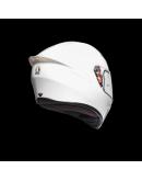AGV K1 全罩安全帽 素色 #WHITE