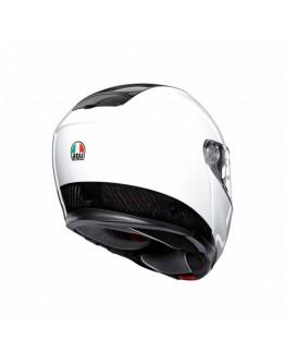 AGV SPORTMODULAR 後掀式全罩安全帽 碳纖維 #CARBON WHITE