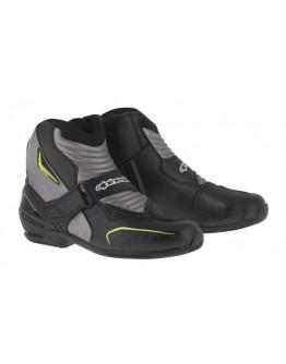 Alpinestars SMX-1 Boots 防摔車靴 短筒 休閒 舒適 #黑銀