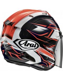 ARAI VZ-RAM 3/4罩安全帽 彩繪 GHOST RED