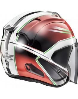 ARAI VZ-RAM 3/4罩 安全帽 彩繪 #WEDGE RED