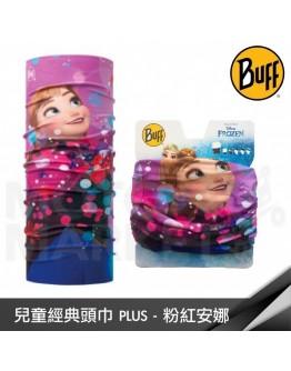 BUFF 魔術頭巾 兒童經典頭巾PLUS 冰雪奇緣 - 粉紅安娜 BF118389-559