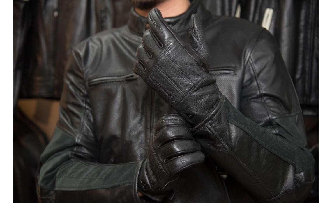 DAINESE HI-JACK GLOVES 復古皮革手套 新品開箱