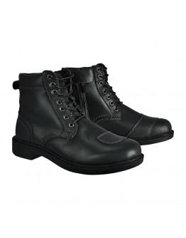 EXUSTAR 中筒防摔車靴 綁帶 E-SBT103 #黑